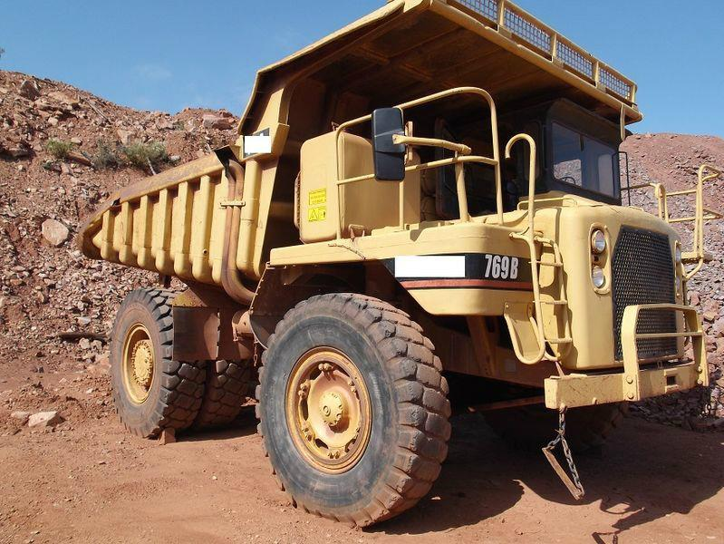 Caterpillar 769 B Rock Dumper