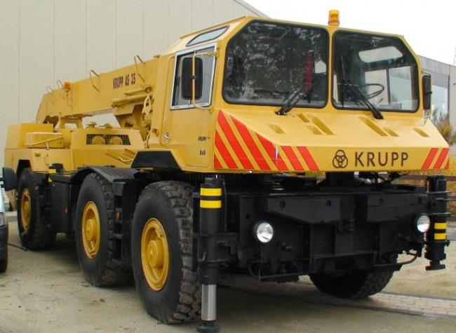 KRUPP AS 35 Telescopic Crane Truck